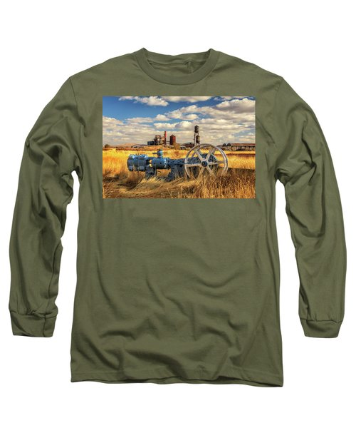 The Old Lumber Mill Long Sleeve T-Shirt by James Eddy