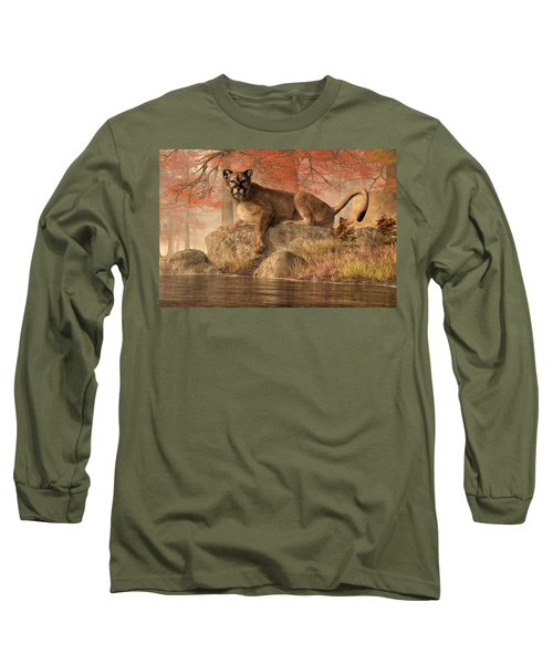 The Old Mountain Lion Long Sleeve T-Shirt