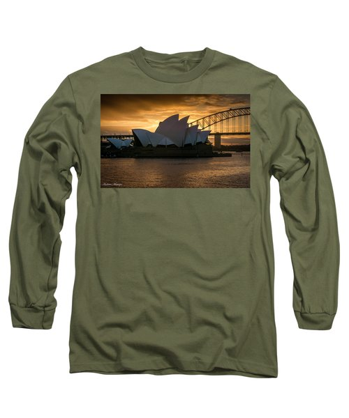 Long Sleeve T-Shirt featuring the photograph The Opera House by Andrew Matwijec