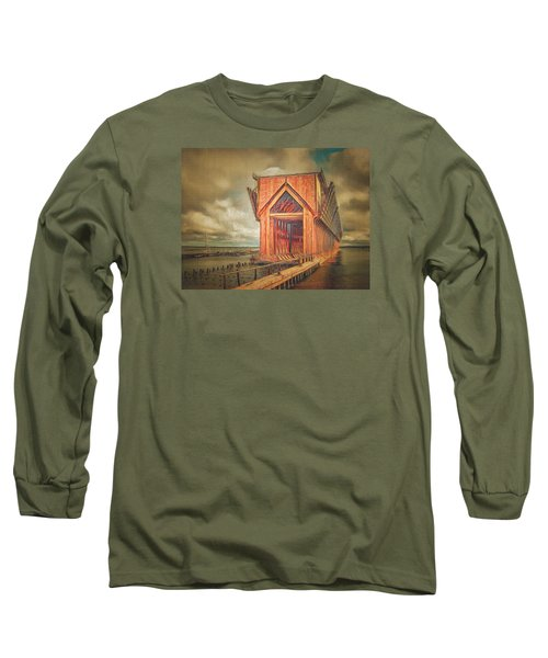 Long Sleeve T-Shirt featuring the photograph The Ore Is Gone Redux by MJ Olsen