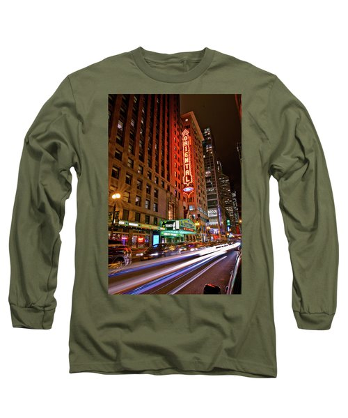 The Oriental Theater Chicago Long Sleeve T-Shirt