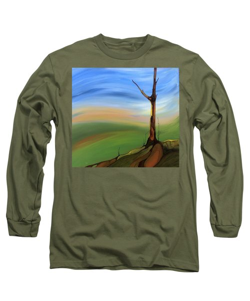 The Painted Sky Long Sleeve T-Shirt by Pat Purdy