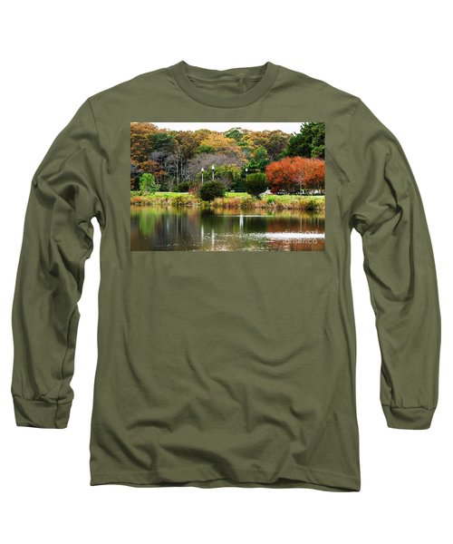 The Park Long Sleeve T-Shirt by Judy Wolinsky