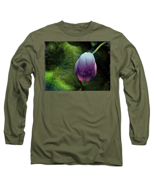 Long Sleeve T-Shirt featuring the photograph The Passing Storm by Bellesouth Studio