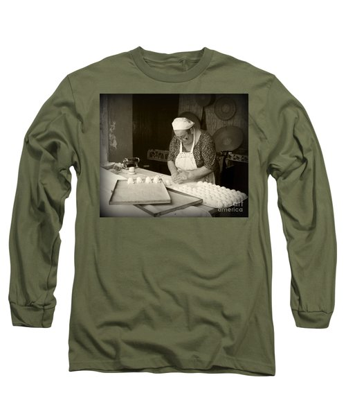 The Pastry Maker, Sardinia Long Sleeve T-Shirt