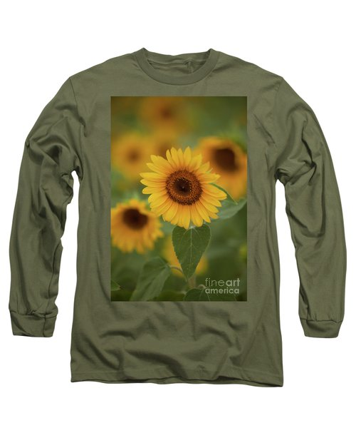 The Patch Of Sunflowers Long Sleeve T-Shirt