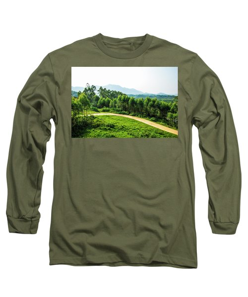 The Path In The Mountain Long Sleeve T-Shirt