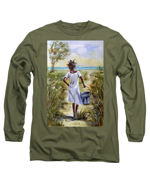 The Path To The Sea Long Sleeve T-Shirt