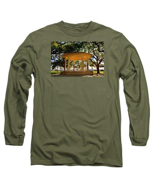 The Pavilion At Battery Park Charleston Sc  Long Sleeve T-Shirt