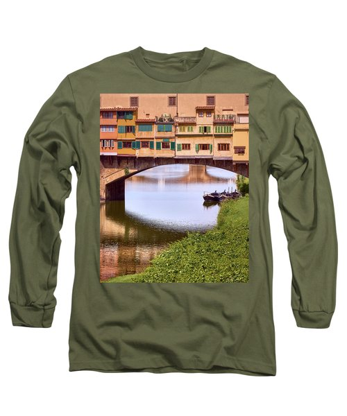 The Perfect Place To Park Your Boat Long Sleeve T-Shirt