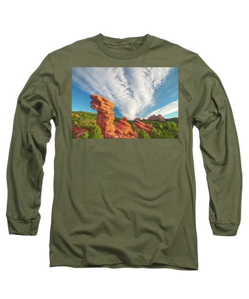 The Photogenic Purlieu Of Our Home, Sweet Hometown  Long Sleeve T-Shirt