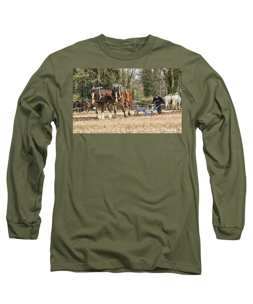 The Ploughman Long Sleeve T-Shirt by Roy McPeak