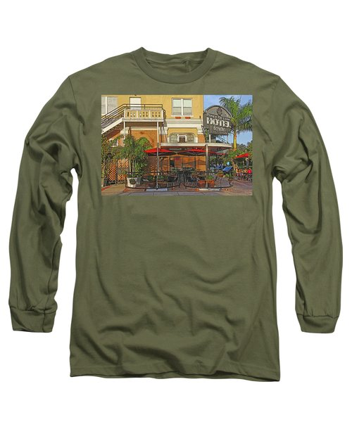The Ponce De Leon Hotel Long Sleeve T-Shirt