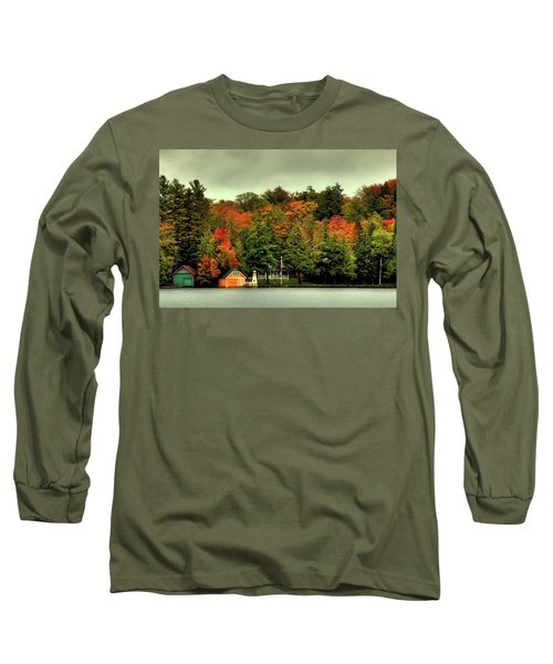 The Pond In Old Forge Long Sleeve T-Shirt