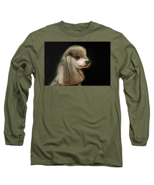 The Poodle Is A Breed Of Dog, One Of The Most Common Breeds In The Present. Long Sleeve T-Shirt