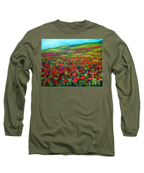 The Poppy Fields Long Sleeve T-Shirt