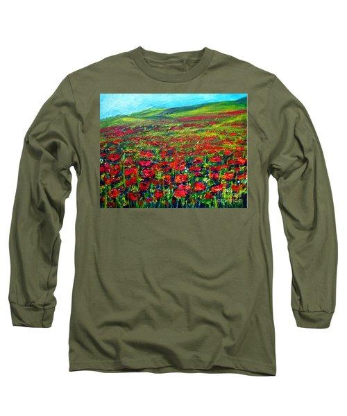 The Poppy Fields Long Sleeve T-Shirt