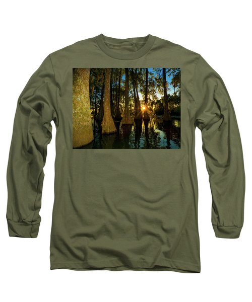 The Pow Wa Of The Light Long Sleeve T-Shirt by Kimo Fernandez