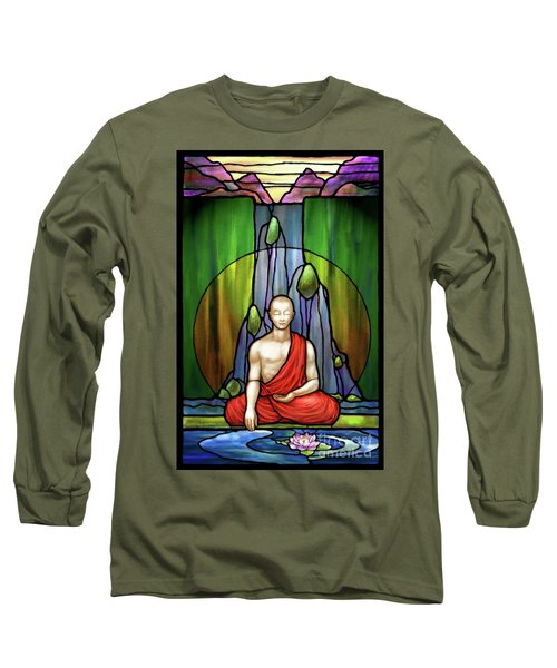 The Praying Monk Long Sleeve T-Shirt