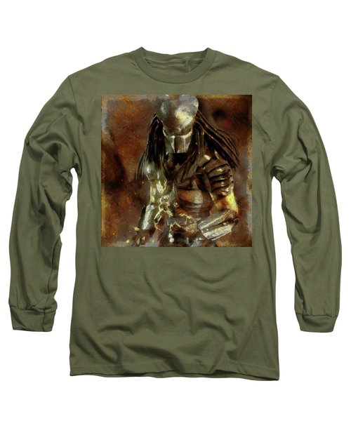 The Predator Scroll Long Sleeve T-Shirt