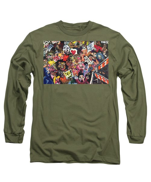 The Protest  Long Sleeve T-Shirt by Jame Hayes