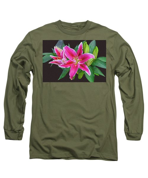 The Pulchritude Of Lady Lily Long Sleeve T-Shirt