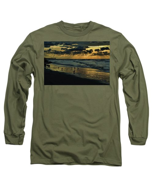 The Quiet In My Soul Long Sleeve T-Shirt by Diana Mary Sharpton