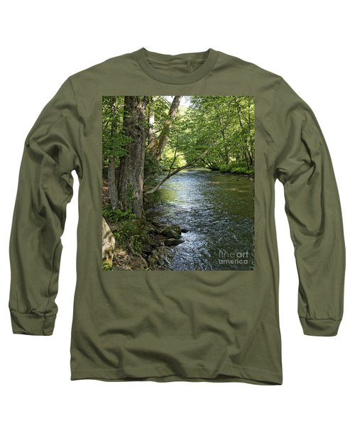 The Quiet Waters Flow Long Sleeve T-Shirt