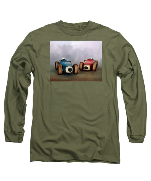 The Race Long Sleeve T-Shirt by David and Carol Kelly
