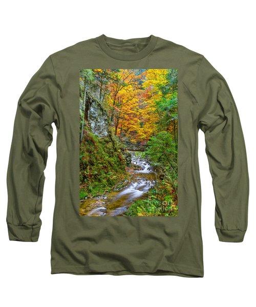 Cascades And Waterfalls Long Sleeve T-Shirt