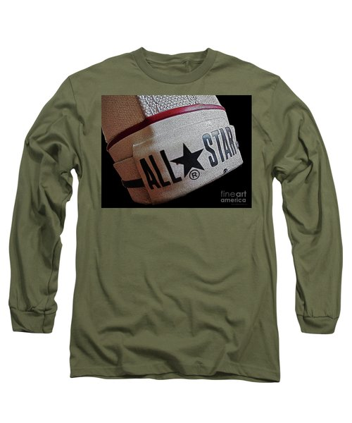 The Converse All Star Rear Label. Long Sleeve T-Shirt by Don Pedro De Gracia
