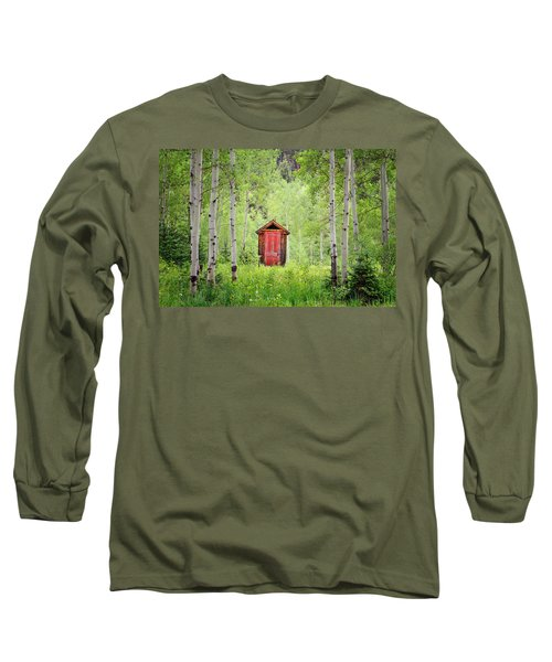 The Red Door  Long Sleeve T-Shirt