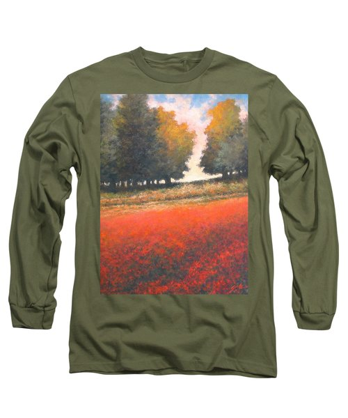 The Red Field #2 Long Sleeve T-Shirt