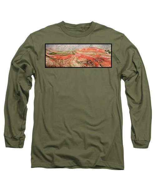 The Redlands, Yunnan, China Long Sleeve T-Shirt