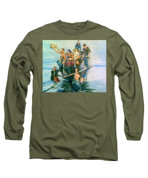 The Refugees Seek The Shore Long Sleeve T-Shirt