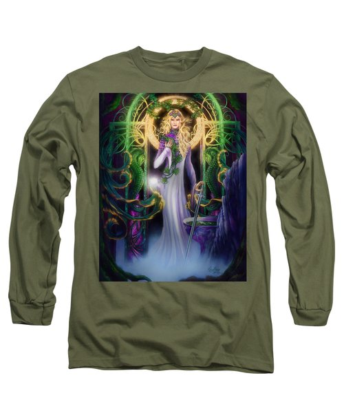 The Return Of Ithwenor Long Sleeve T-Shirt by Curtiss Shaffer