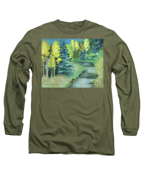 Long Sleeve T-Shirt featuring the drawing The Reunion  by Robin Maria Pedrero