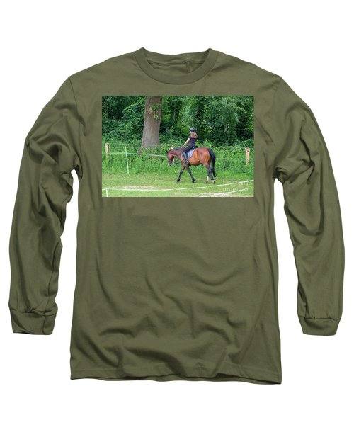 The Riding School In Suburb Long Sleeve T-Shirt