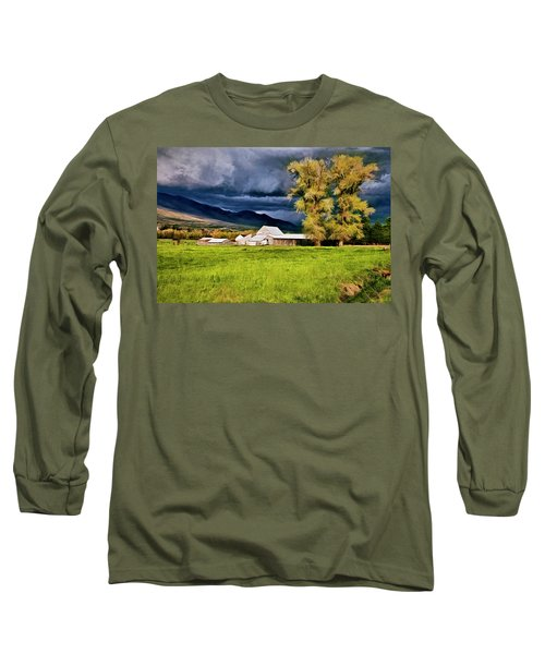 The Right Place At The Right Time Long Sleeve T-Shirt