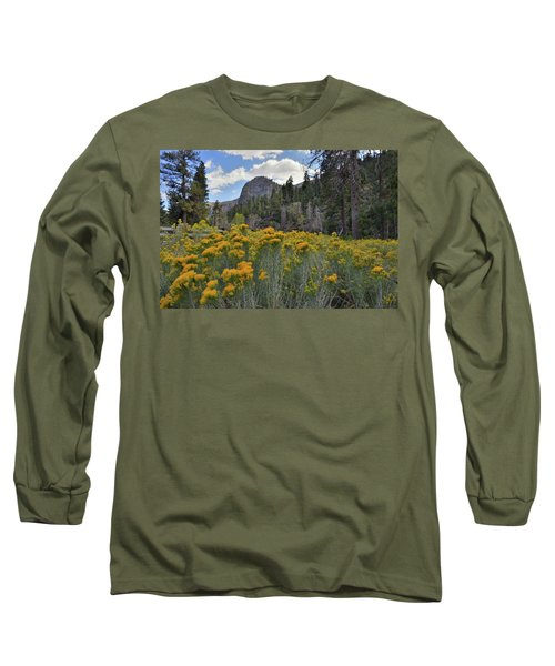 The Road To Mt. Charleston Natural Area Long Sleeve T-Shirt