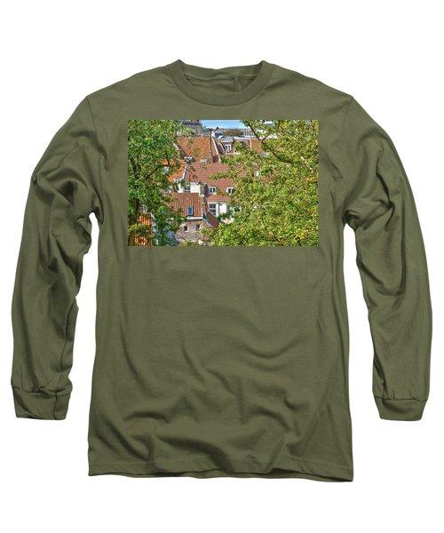 The Rooftops Of Leiden Long Sleeve T-Shirt
