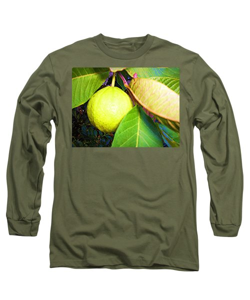 The Rose Apple Long Sleeve T-Shirt by Winsome Gunning