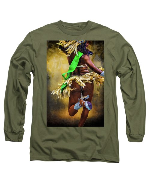 Long Sleeve T-Shirt featuring the photograph The Samba Dancer by Chris Lord