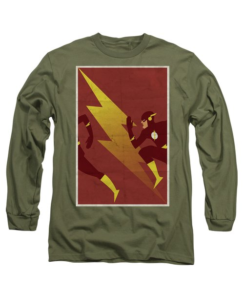 The Scarlet Speedster Long Sleeve T-Shirt