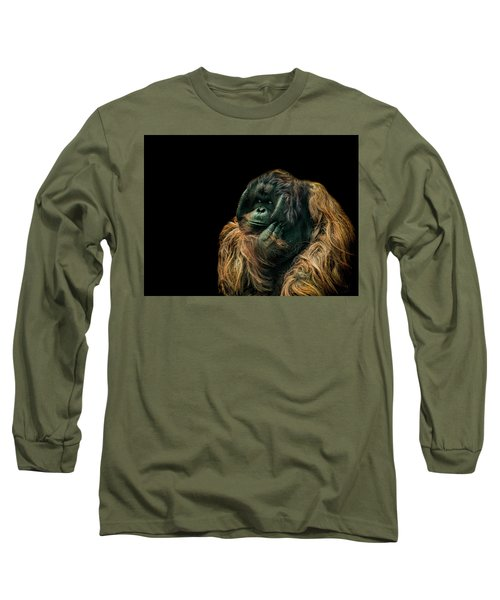 The Sceptic Long Sleeve T-Shirt by Paul Neville