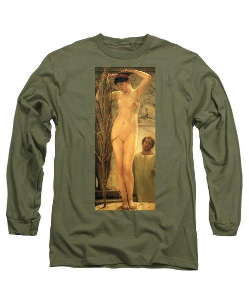 The Sculptor's Model Long Sleeve T-Shirt