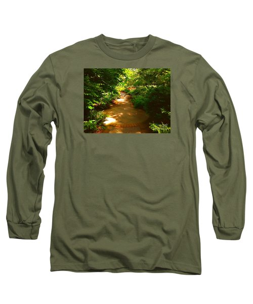 The Secret Path Long Sleeve T-Shirt by Becky Lupe