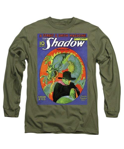The Shadow Green Eyes Long Sleeve T-Shirt