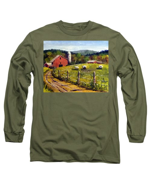 The Sheep Farm Long Sleeve T-Shirt by Jim Phillips