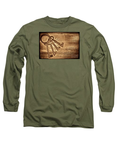 The Sheriff Jail Keys Long Sleeve T-Shirt